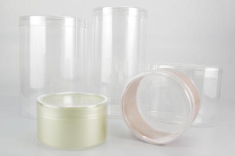 円筒カールケースは口径を選択して、高さを自由に設定できます。